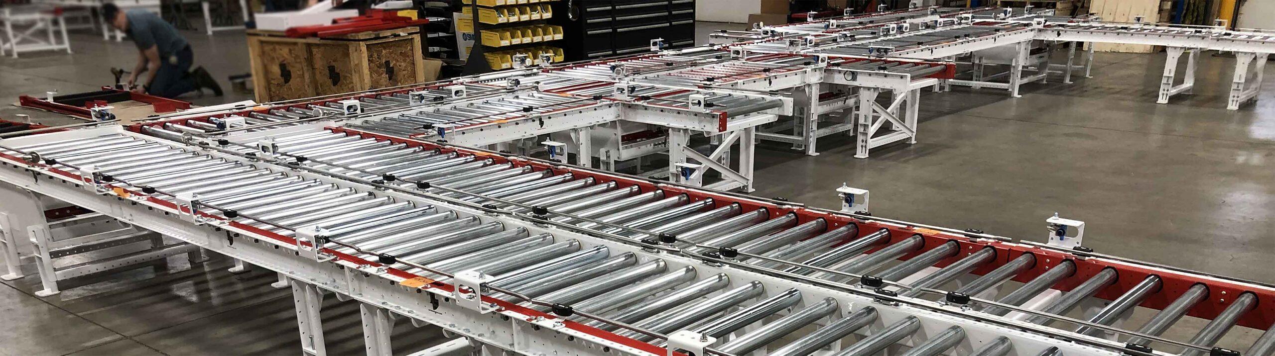 CDLR roller conveyor